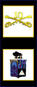 Buffalo Soldiers Tenth Emblem